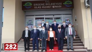 CHP Genel Başkan Yardımcısı Başkan Yüksel'i Ziyaret Etti