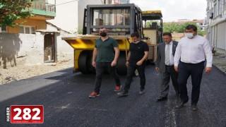 Hıdırağa'da Yol ve Asfalt Çalışmalarımız Devam Ediyor