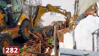 Metruk Binaların Yıkım Çalışmaları Sürüyor