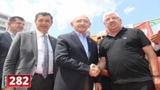 Ergene Belediye Başkanı Rasim Yüksel CHP Genel Başkanı İle Birlikte Açılışa Katıldı