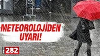 Meteoroloji'den Trakya için 'kuvvetli yağış' uyarısı