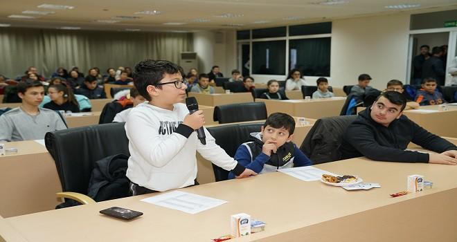 Çocuk Meclisi Üyeleri Tanışma Toplantısında Bir Araya Geldi